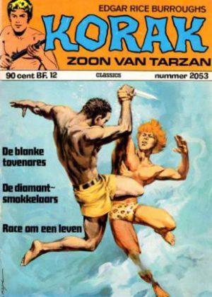 Korak De Zoon Van Tarzan - De Blanke Tovenares