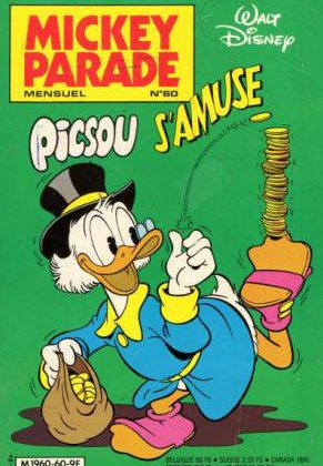 Mickey Parade Tome 60 (Frans)