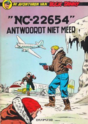 Buck Danny - NC-22654 antwoordt niet meer (Nieuw)