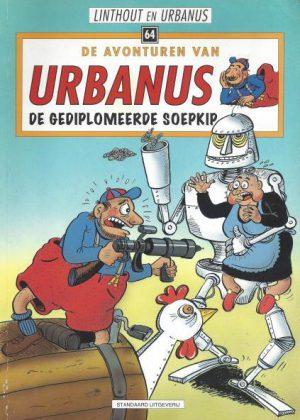 De avonturen van Urbanus - De gediplomeerde soepkip (Nieuw)