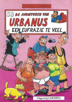 De avonturen van Urbanus - Een Eufrazie te veel (Nieuw)