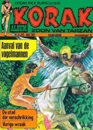 Korak de zoon van Tarzan - Aanval van de vogelmannen (Tweedehands)
