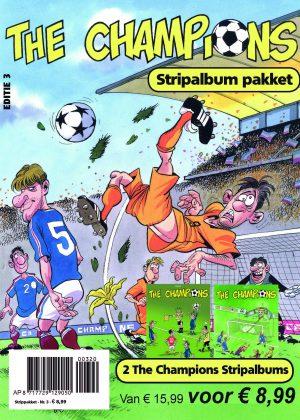 The Champions Stripalbum Pakket Editie 3 (Nieuw)