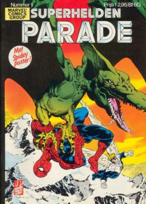 Superhelden Parade nr. 1