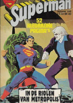 Superman - In de riolen van metropolis (Tweedehands)