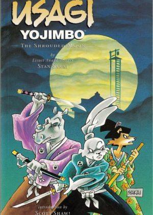 Usagi YoJimbo - The shrouded moon (Engels talig)