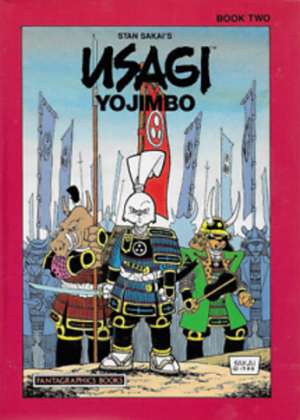 Usagi YoJimbo - Book Two (Engels talig)