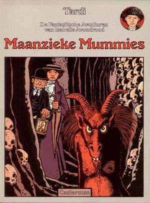 De Fantastische Avonturen Van Isabelle Avondrood- Maanzieke Mummies