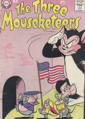 DC Nr.20 - The Three Mousketeers (1958) (Engels)