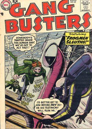 DC Nr.63 - Gang Busters (1958) (Engels)
