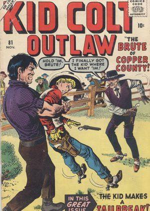 Kid Colt Outlaw - Nr.81 (1958) (Engels)
