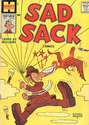 Harvey Comics - Sad Sack Nr.82 (1958) (Engels)