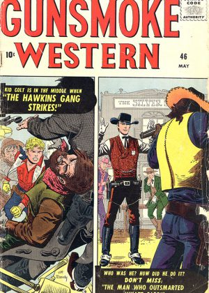 Kid Colt, Outlaw And Wyatt Earp - Nr.46 (1958) (Engels)