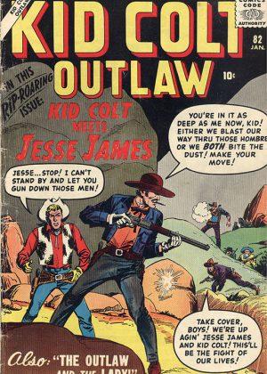 Kid Colt Outlaw - Nr.82 (1958) (Engels)