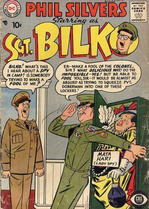 DC Nr.2 - Sgt. Bilko (1957) (Engels)