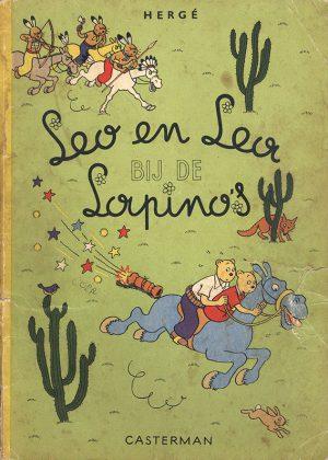 Leo en Lea - Bij de Lapinos (1e druk 1952)
