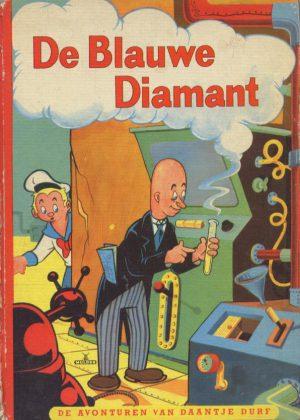 Daantje Durf - De Blauwe Diamant (Collector's Item) (HC)