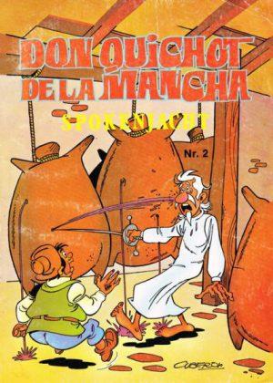 Don Quichot de la Mancha 2- spokenjacht