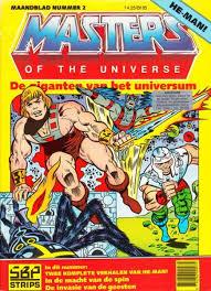 Masters of the universe nr.2- De giganten van het universum
