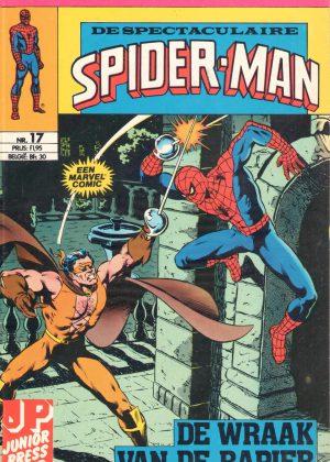 De Spectaculaire Spiderman nr. 17 - De wraak van de Rapier