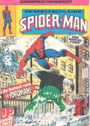 De Spectaculaire Spider-Man nr. 32 - De komst van Hydroman!