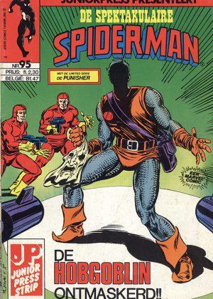 De Spektakulaire Spiderman nr. 95 - De Hobgoblin ontmaskerd!! + De Punisher