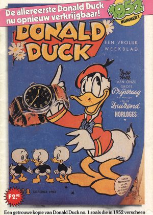 Donald Duck 01 Herdruk - Een Vrolijk Weekblad