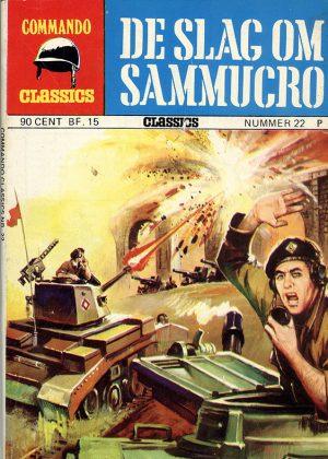 Commando Classics - De Slag Om Sammucro (Pocketstrip)