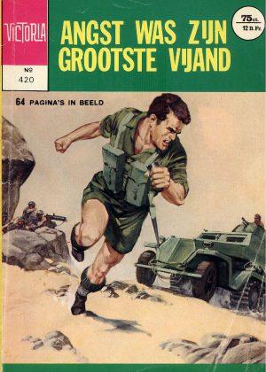 Commando Classics - Angst Was Zijn Grootste Vijand (Pocketstrip)