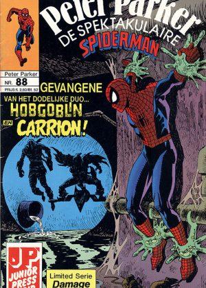 Peter Parker de Spektakulaire Spiderman nr.88 - De genezing van Carrion