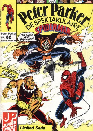 Peter Parker de Spektakulaire Spiderman nr.86 - Amnestie!