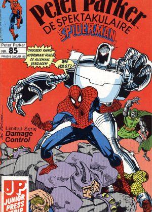 Peter Parker de Spektakulaire Spiderman nr.85 - Bang en boos (Het staal in de ziel van de mensheid)