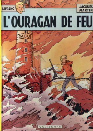 Lefranc - L'Ouragan de feu (Franstalig) HC