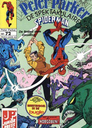 Peter Parker de Spektakulaire Spiderman nr.72 - Beestenboel in de Bugle