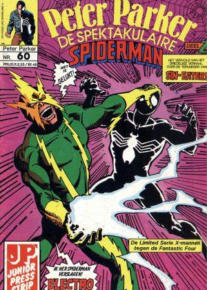 Peter Parker de Spektakulaire Spiderman nr.60 - De zondebok
