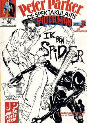 Peter Parker de Spektakulaire Spiderman nr.58 - Ik ben Spider!