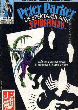 Peter Parker de Spektakulaire Spiderman nr.52 - De listen van... Lizard!