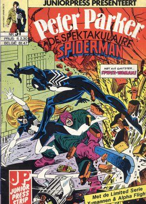 Peter Parker de Spektakulaire Spiderman nr.51 - Kracht maakt macht