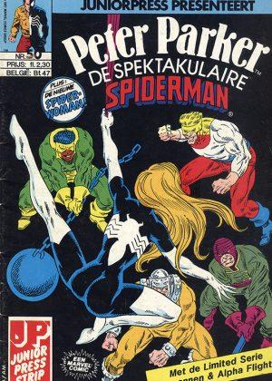 Peter Parker de Spektakulaire Spiderman nr.50 - Slopers en spinnen!