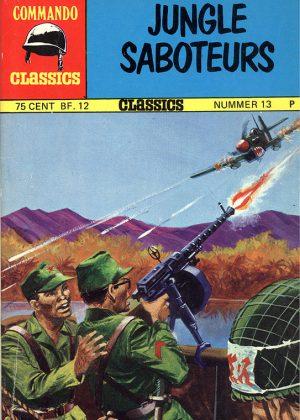 Commando Classics - Jungle Saboteurs (Pocketstrip)