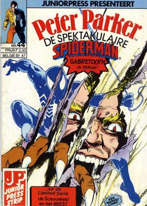 Peter Parker de Spektakulaire Spiderman nr.44 - Kattegevecht!