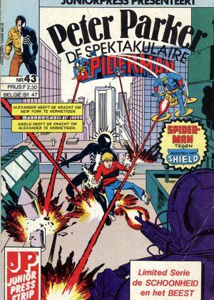 """Peter Parker de Spektakulaire Spiderman nr.43- """"Stof zijt gij, en tot stof zult gij wederkeren."""""""