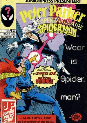 Peter Parker de Spektakulaire Spiderman nr.42 - Etenstijd