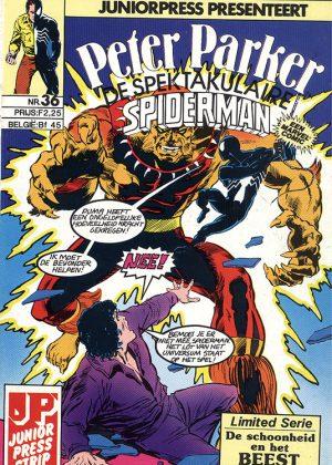 Peter Parker de Spektakulaire Spiderman nr.36 - De dag dat de goden huilden