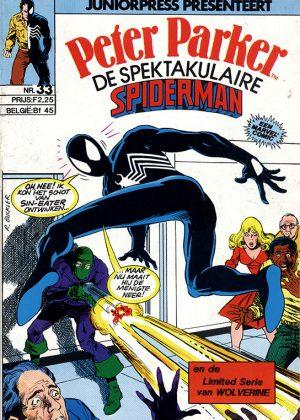 Peter Parker de Spektakulaire Spiderman nr.33 - De dood van Inspekteur Jean Dewolff deel 2: De biecht