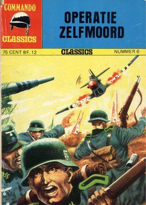 Commando Classics - Operatie Zelfmoord (Pocketstrip)