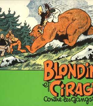 Blondin et Cirage - Contre les gangsters (Frans talig) (HC)