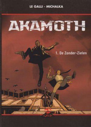 Akamoth 1 - De Zonder-Zielen