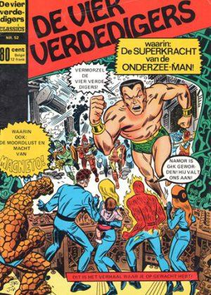 De Vier Verdedigers - De superkracht van de Onderzee-man! (Tweedehands)