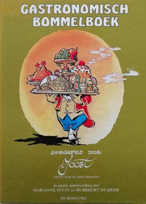 een praktisch kookboek met drinkadviezen samengesteld door Joost chef de cuisine van Château Bommelstein